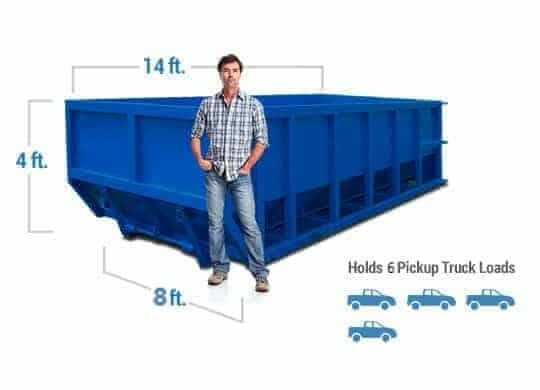12 yard dumpster rental