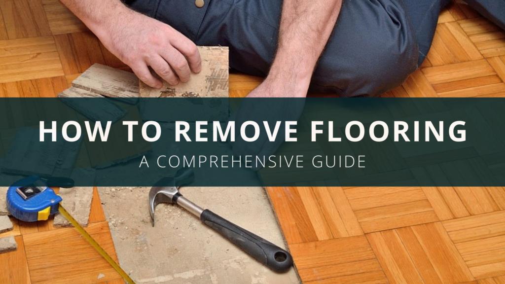 Removing Floors, Removing Laminate Flooring Glue